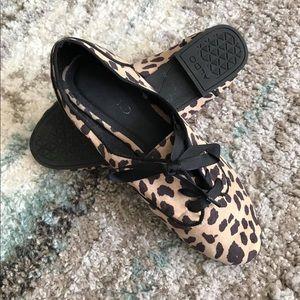 ALDO Animal Print Lace-Up Shoes